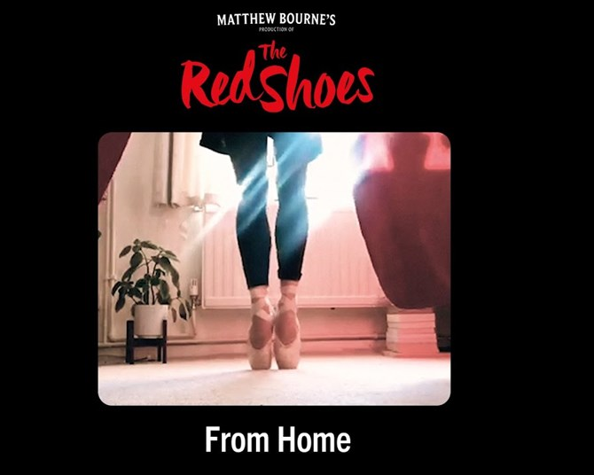 Matthew Bourne's 'The Red Shoes, From Home'