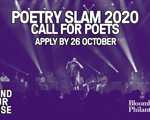 Poetry Slam - Call for Poets