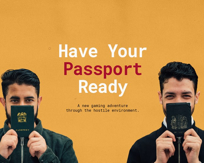 Have your Passport Ready
