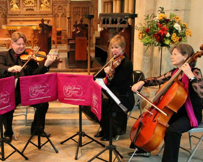 The York String Quartet  in Concert