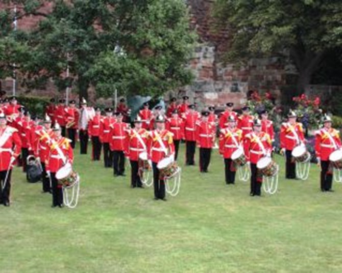 The Yorkshire Volunteers Band in Concert